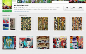 Consistent Instagram gallery - Molly Holmes Art