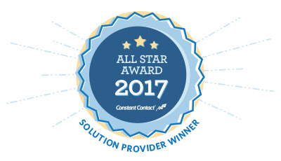 Constant Contact 2017 All Star Award Mobloggy