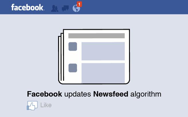 Facebook: Algorithm changed…again.