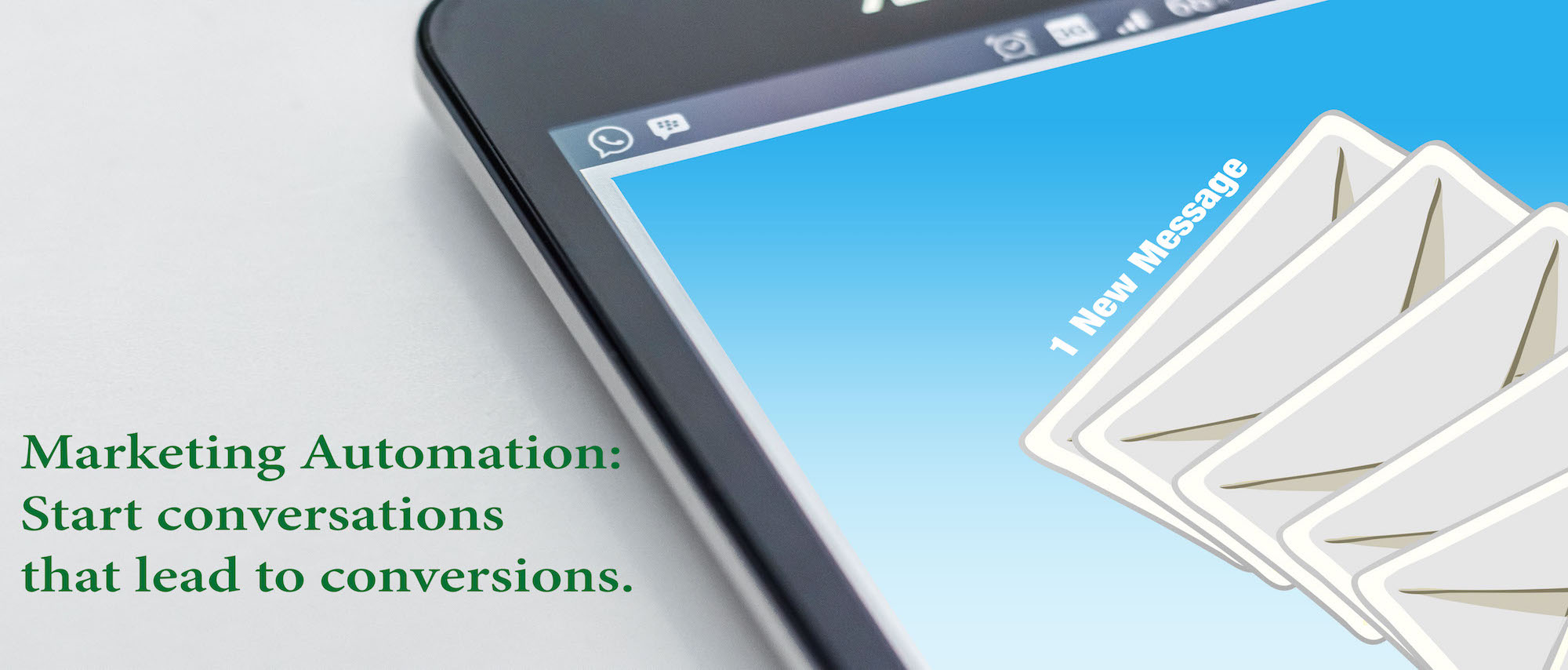 Marketing Automation: Start conversions that lead to conversions