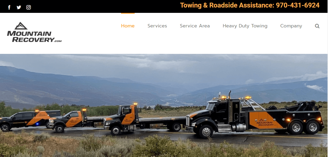 Mountain Recovery Website
