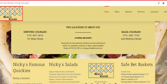 Nickys-Quickie-website