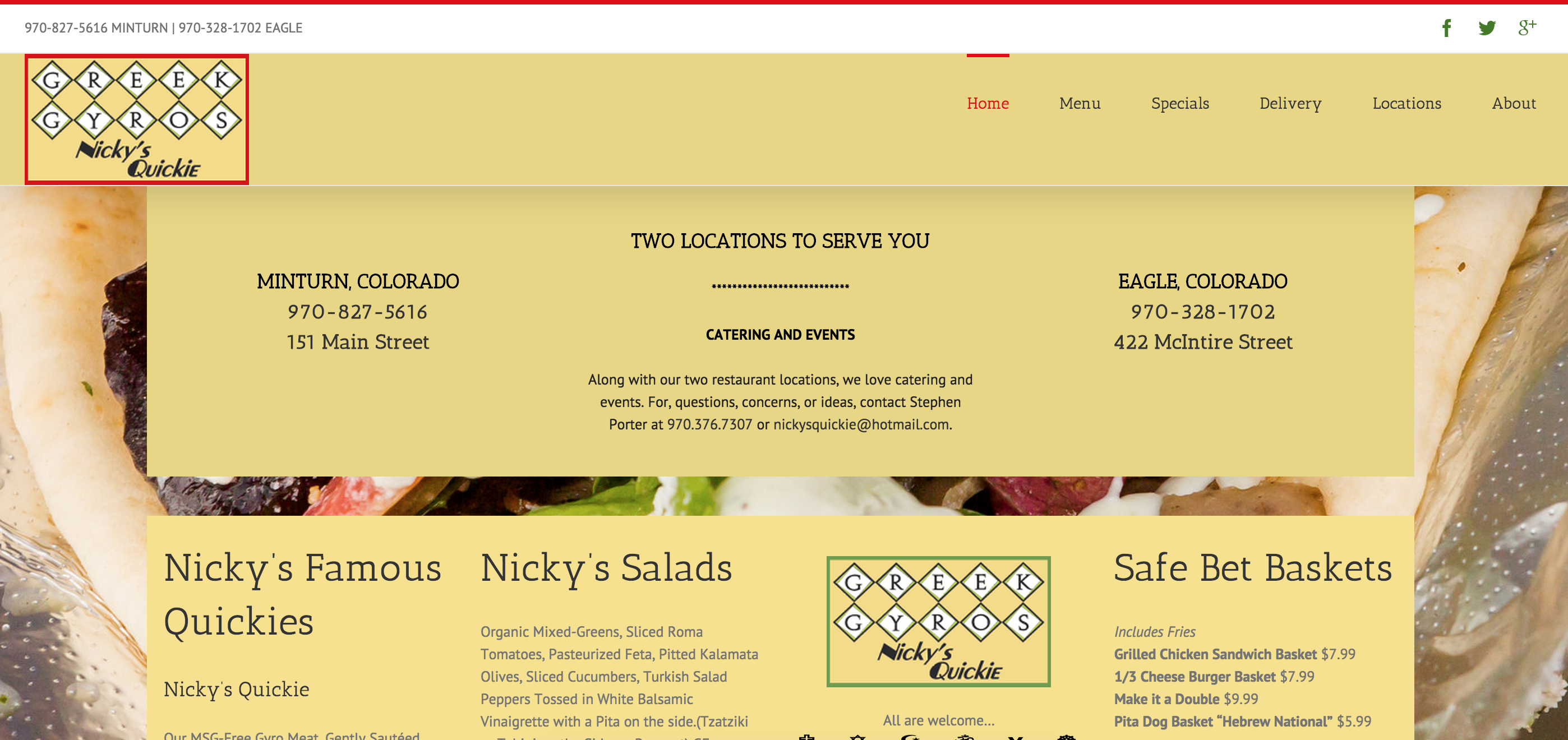 Nickys-Quickie-website