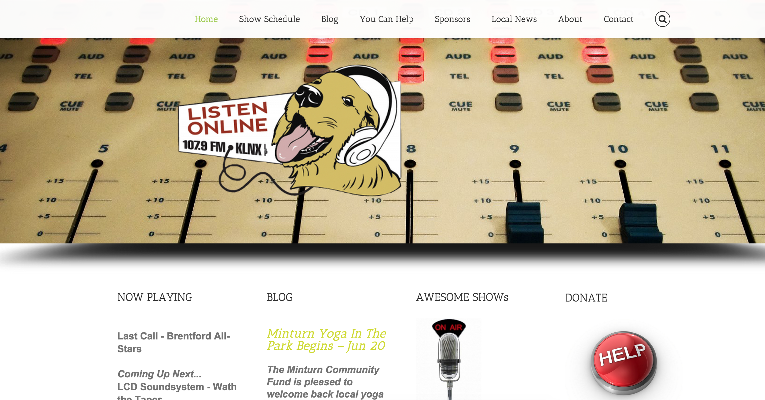 Radio-Free-Minturn-website