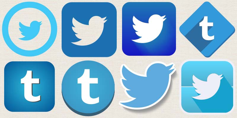 twitter icons for Social Media Marketing